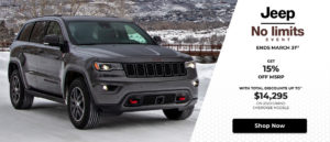 March 2020 Jeep Offer