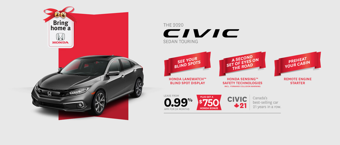 December Honda Civic offer