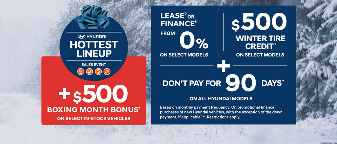 December Hyundai offer