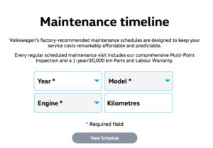 Maintenance Calculator
