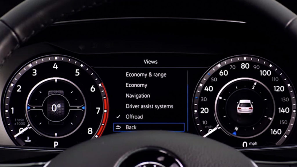 Tiguan Digital Dashboard