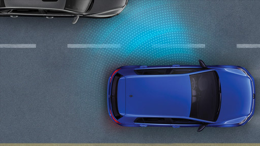 2019 Golf R Blind Spot Detection