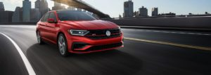 Red 2019 VW Jetta GLI