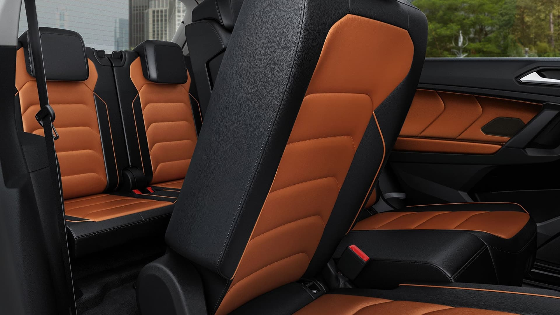 2020 Tiguan Three row seating