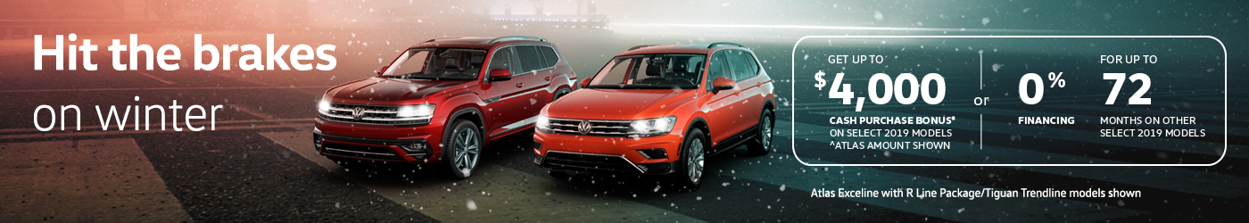January VW offer