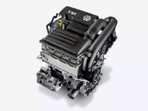 Vw20 Golf Turbocharged Engine