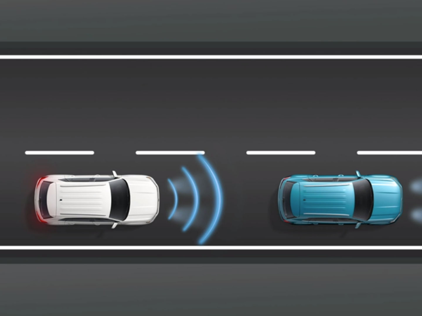 VW Front Assist with pedestrian monitoring technology