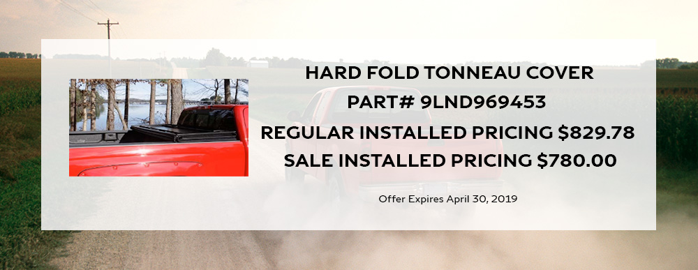 April Hardfold Tonneau