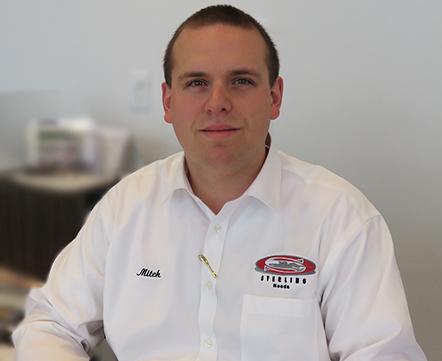 Mitchel DAmour - New Car Sales Manager