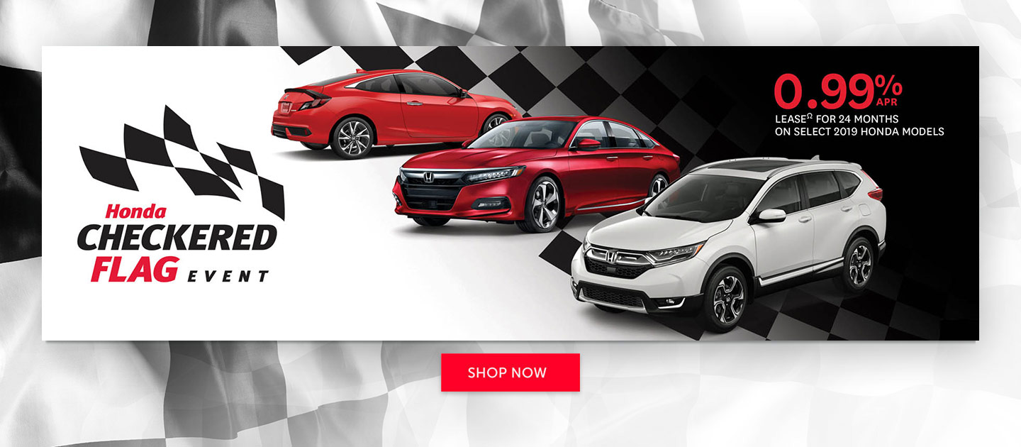 Honda May 2019 OEM Offer