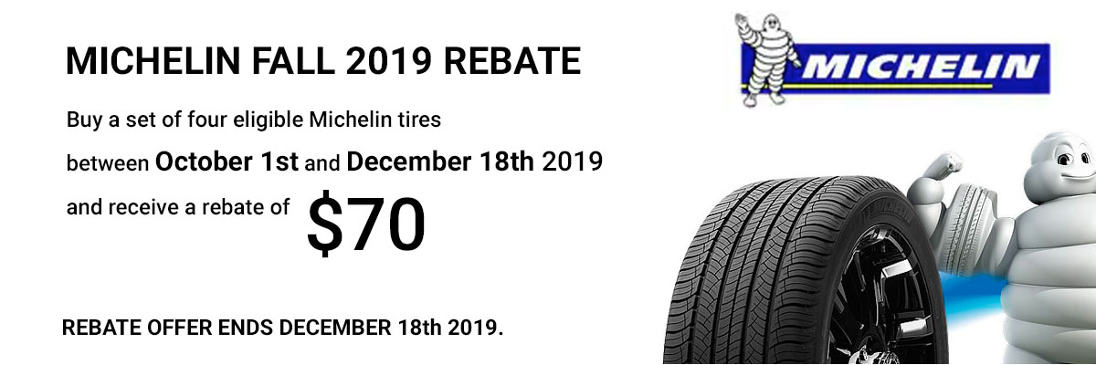Michelin Tire Coupon