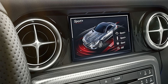 2019 SLC Roadster DYNAMIC SELECT screen