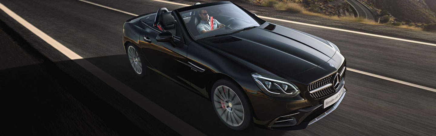 2019 BLACK CONVERTIBLE SLC EXTERIOR