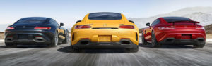 AMG GT, GT S and GT C COUPES