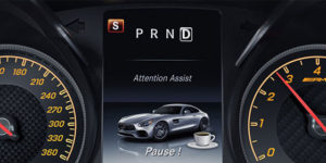 ATTENTION ASSIST Screen