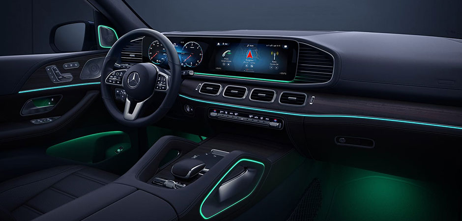 2020 GLE Interior design