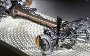 AMG DYNAMIC SELECT Suspension