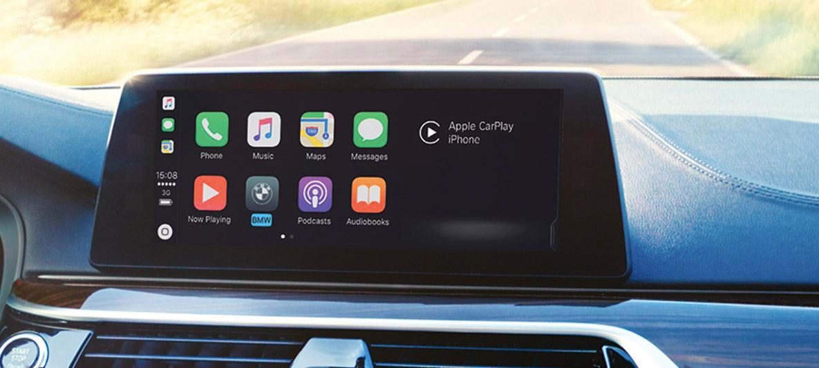 Apple CarPlay display