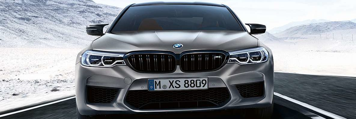 BMW M5 Competition front end