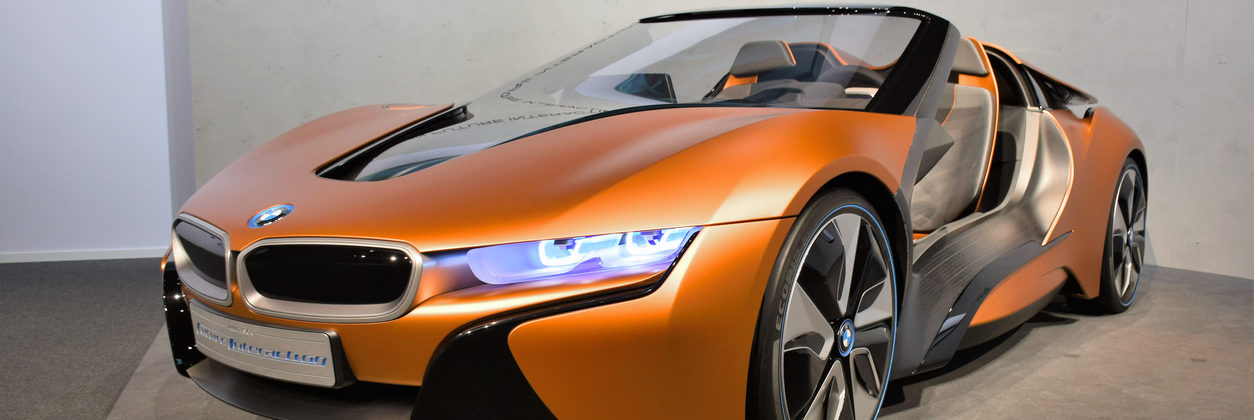 BMW i Vision Future Interaction on statical presentation