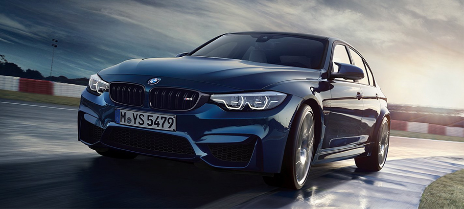 BMW M3 sedan at a glance ts