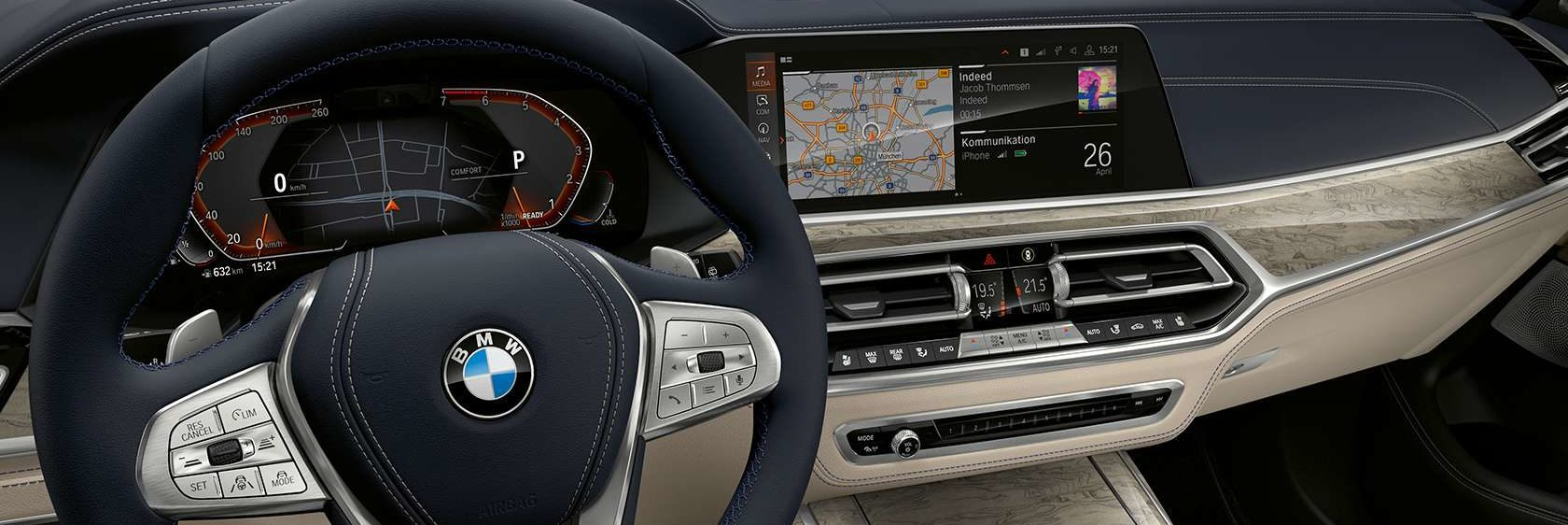BMW Driver Assistant in BMW X7