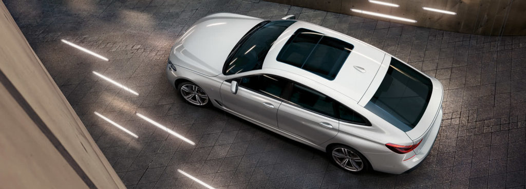 overhead view of the 2019 bmw 6 series