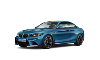 BMW M2 competition in blue