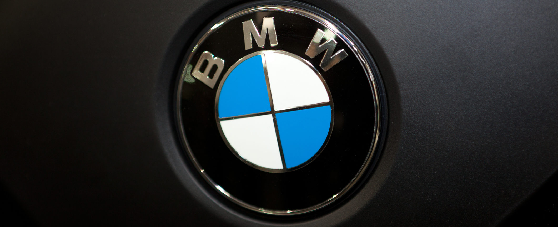 Shiny BMW Logo