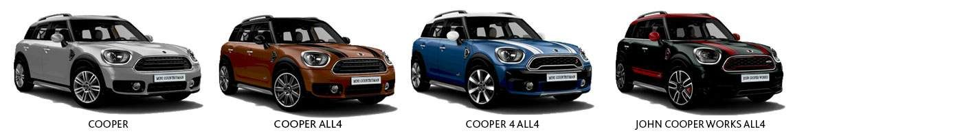 Mini Countryman trim levels