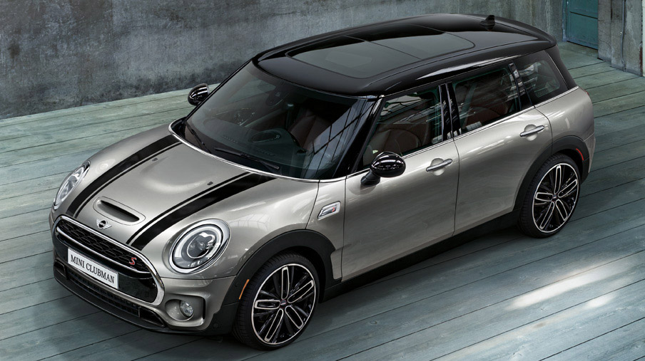MINI Cooper Clubman S three quarter view