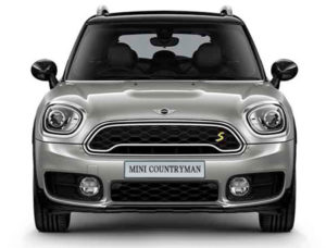 2019 Countryman E ALL4 Jellybean Front View