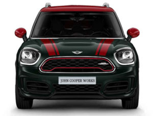 2019 Countryman JCW ALL4 Jellybean Front View