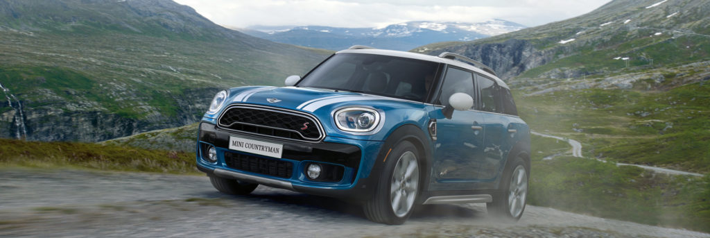 MINI Countryman with ALL4 tackling the off-road