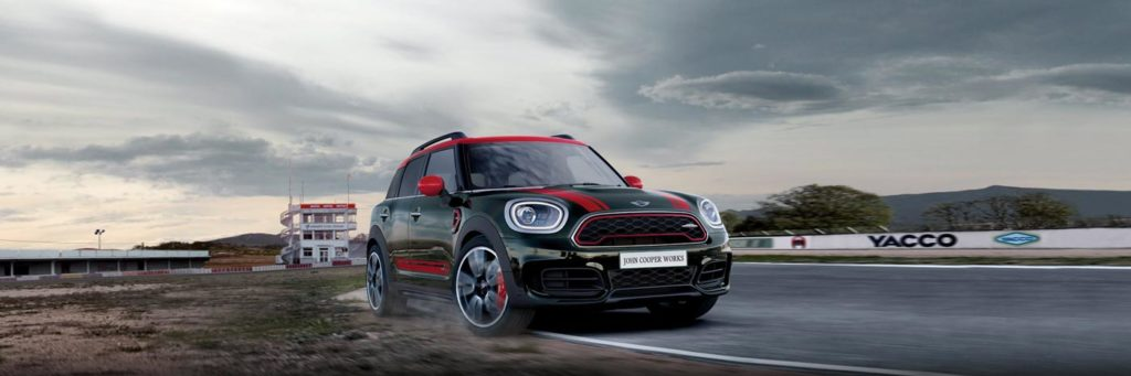 JCW on a race track