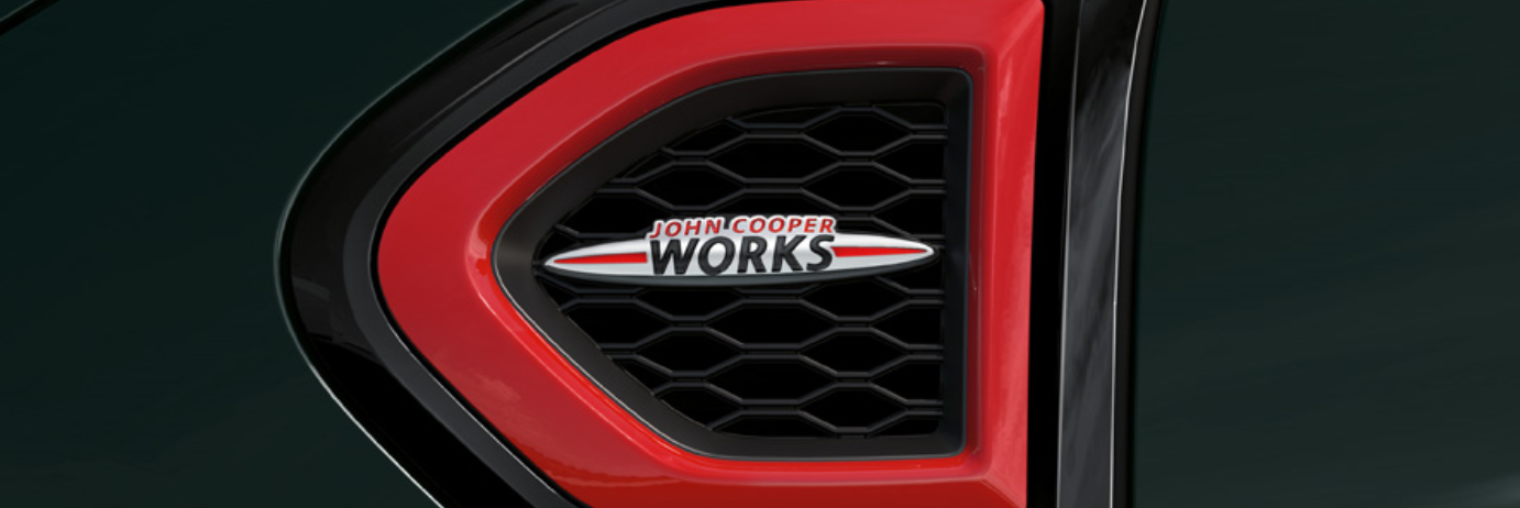 John Cooper Works badge