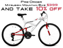 Mountain bike coupon