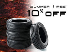 Summer Tires Coupon