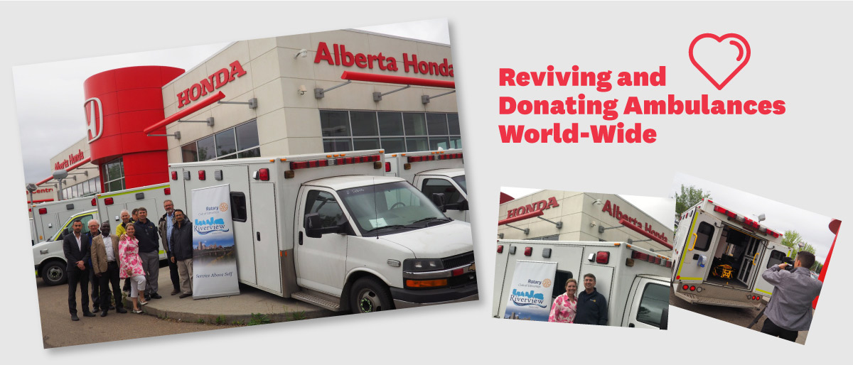 reviving ambulances worldwide