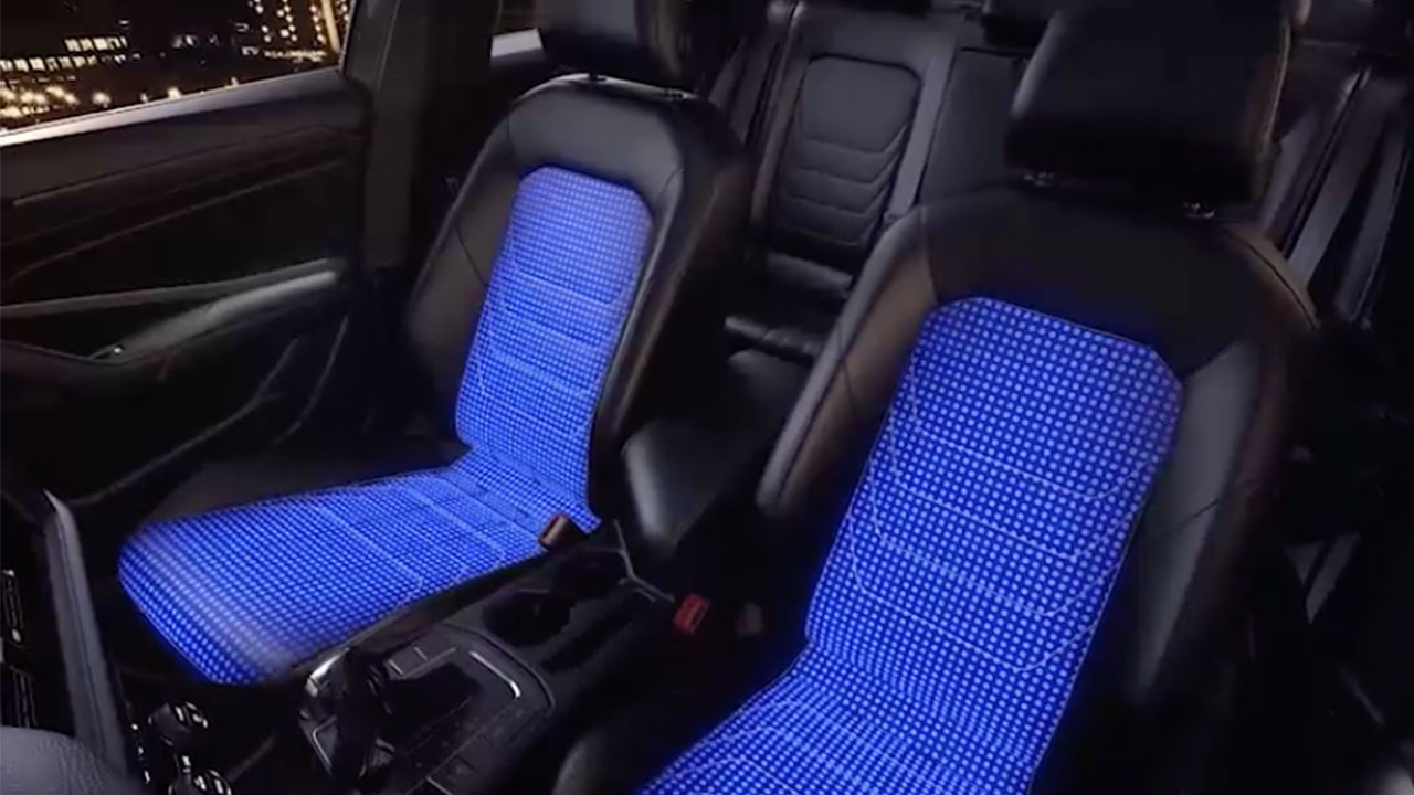 ventilated front seats