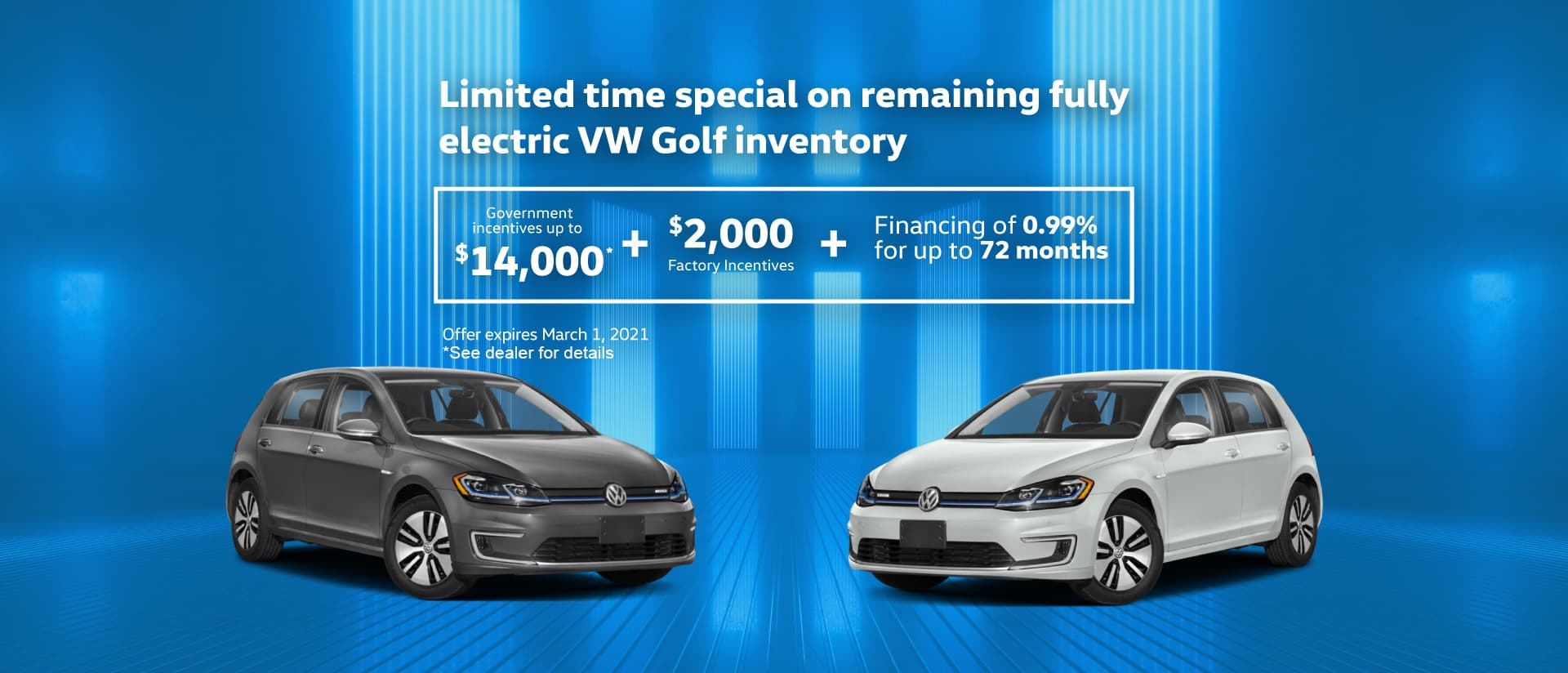 eGolf March Slide