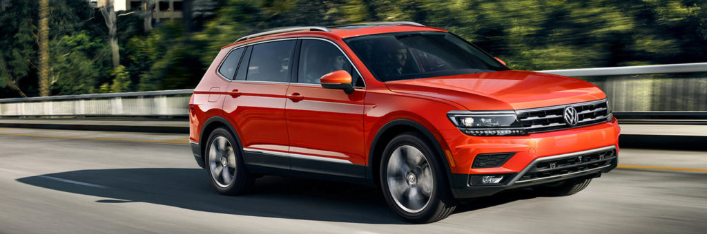 The 2018 VW Tiguan stands out from the crowd