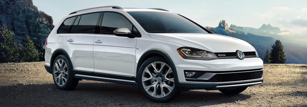 The 2018 VW Golf Alltrack is perfect for outdoor excursions