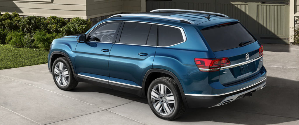 The 2018 VW Atlas is perfect for large families
