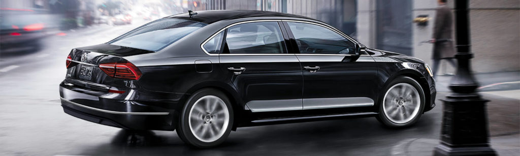 The Passat is perfect for long highway trips