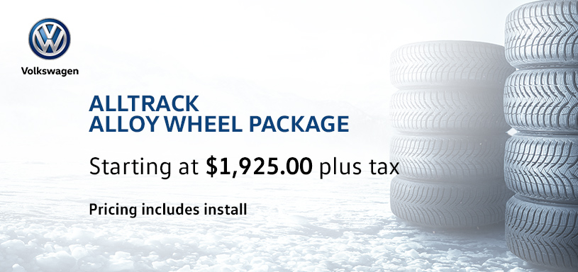 Alltrack Alloy Winter Tire Offer