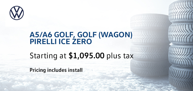 A5 A6 Golf Golf Wagon Winter Tire Offer