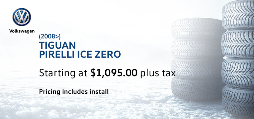 Tiguan Winter Tire Offer