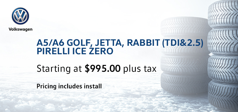 A5 A6 Golf Jetta Rabbit Winter Tire Offer
