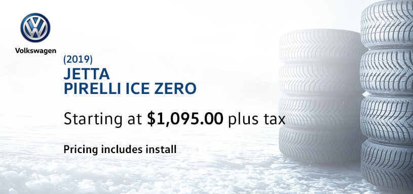 2019 Jetta Winter Tire Offer